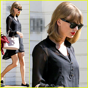 Taylor Swift Steps Out After Near Run-In with John Mayer
