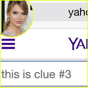 Taylor Swift Posts Yahoo-Related Third Clue - See the Photo!