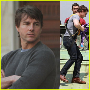 Tom Cruise Starts Filming Stunts for 'Mission: Impossible 5'!