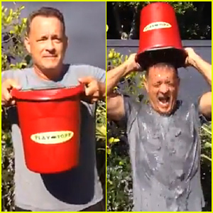Tom Hanks' Ice Bucket Challenge Makes Us Love Him Even More - Watch Now!