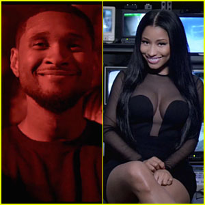 Usher & Nicki Minaj's New 'She Came to Give It To You' Music Video Gets Us Dancing - Watch Now!