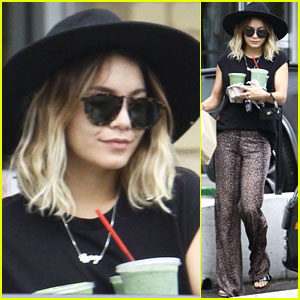 Vanessa Hudgens Grabs a Healthy Green Smoothie for Breakfast!