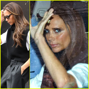 Victoria Beckham Stops By Her Flagship Store in London!