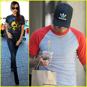 Victoria Beckham Rocks Out in Her Grateful Dead T-Shirt