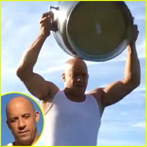 Vin Diesel Nominates Angelina Jolie For Ice Bucket Challenge - Watch Now