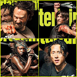 'Walking Dead' Stars Cover Four 'EW' Issues, Promise Big Things for New Season!