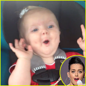 Watch Adorable Baby Girl Freak Out Over Katy Perry's 'Dark Horse'