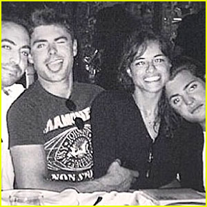 Zac Efron & Michelle Rodriguez's Ibiza Trip - More Photos Here!