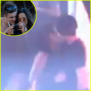 Zac Efron & Michelle Rodriguez Make Out on the Dance Floor (Video)