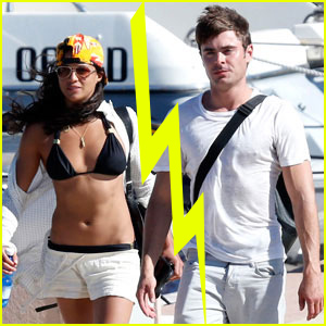 Zac Efron & Michelle Rodriguez Split After Two Month Romance?: Report