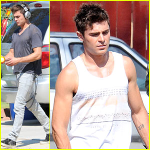 Zac Efron Gets to Work After Split from Michelle Rodriguez