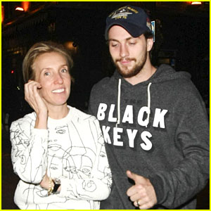 Aaron Taylor-Johnson Takes Wife Sam Out for Night on the Town
