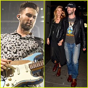 Adam Levine & Behati Prinsloo Surely Have a Newlywed Glow!