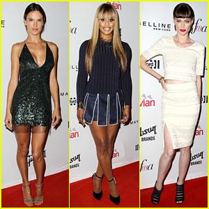 Alessandra Ambrosio & Laverne Cox Heat Up the Fashion Media Awards!