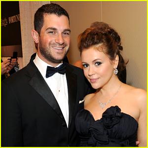 Alyssa Milano & Husband Dave Bugliari Welcome Baby Girl Elizabella!