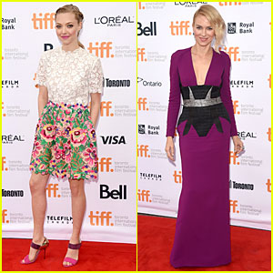 Amanda Seyfried & Naomi Watts Are Beautiful Blondes at 'While We're Young' TIFF Premiere
