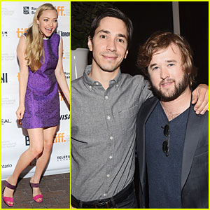 Amanda Seyfried Shows Support For Boyfriend Justin Long at 'Tusk' TIFF Premiere
