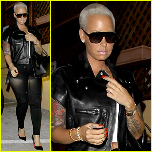 Amber Rose Emerges Without Her Wedding Ring After Accusing Wiz