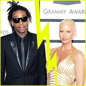 Wiz Khalifa & Amber Rose Split After a Year of Marriage
