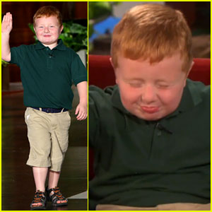 'Apparently Kid' Describes His Face Plant to Ellen DeGeneres