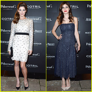 Ashley Greene & Alexandra Daddario Beautify The 'Burying The Ex' Premiere Party