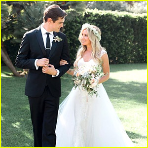 Ashley Tisdale Marries Musician Christopher French - See the Wedding Photo!