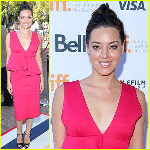 Aubrey Plaza is 'So Proud' of 'Ned Rifle' at TIFF 2014!