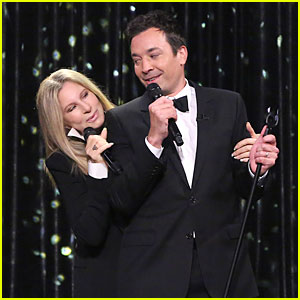 Barbra Streisand & Jimmy Fallon Sing the Best Duets Medley Ever on 'Tonight Show' - Watch Now!
