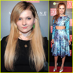 Bella Thorne & Abigail Breslin Hit Up InStyle's Anniversary Party!