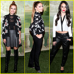 Bella Thorne & Willow Shields Represent Young Hollywood at NYFW!
