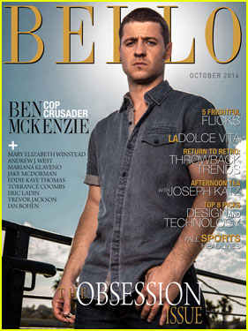 Ben McKenzie Is Sexy & Serious For 'Bello' October 2014 Cover