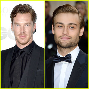Benedict Cumberbatch & Douglas Booth Are Handsome English Lads at GQ Men of the Year Awards 2014