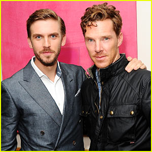 Photo of Dan Stevens & his friend   -