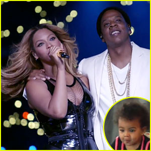Beyonce & Jay Z Share Home Videos of Blue Ivy During HBO Concert Performance - Watch Now!
