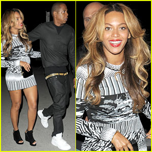 Beyonce Smiles Wide During Paris Dinner Date with Jay Z