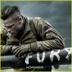 Brad Pitt Takes Command of His Unit in New 'Fury' Trailer - Watch Now!