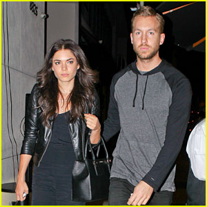 Calvin Harris Grabs Dinner with Rumored Girlfriend Aarika Wolf, Reveals New Album Cover!