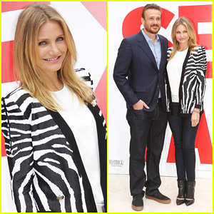 Cameron Diaz & Jason Segel Take Their 'Sex Tape' to Paris!