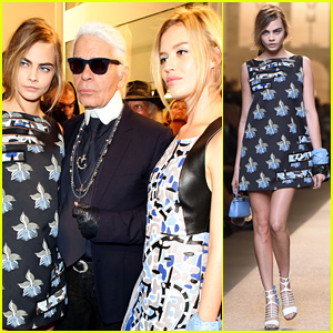 Cara Delevingne Continues Her Amazing Week By Walking the Fendi Runway in Milan