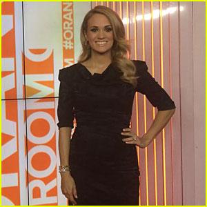 Carrie Underwood Still Feels Weird About Pregnancy