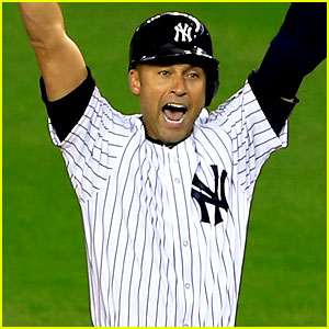 Celebrities Tweet Excitement for Derek Jeter's Final Home Game