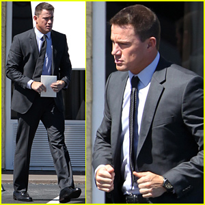 Channing Tatum & His Huge Muscles Continue Filming 'Magic Mike XXL' - See the New Photos!