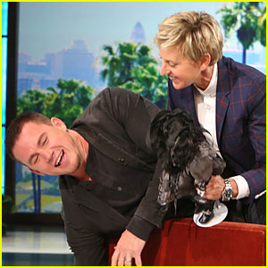 Channing Tatum Faces His Fear of Porcelain Dolls on 'Ellen' - Watch Now!