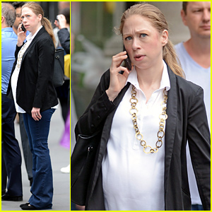 Chelsea Clinton's Baby Bump is Getting So Big!