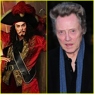 Christopher Walken as Captain Hook - First Look Photo From 'Peter Pan' Live!