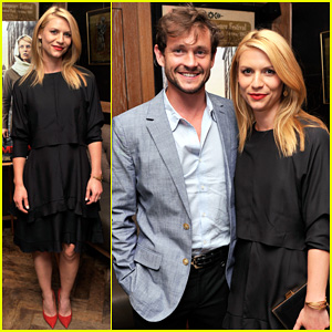 Claire Danes Gets Support from Hubby Hugh Dancy at 'Homeland' Season Four Private Screening!