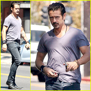 Colin Farrell Steps Out After Huge 'True Detective' News