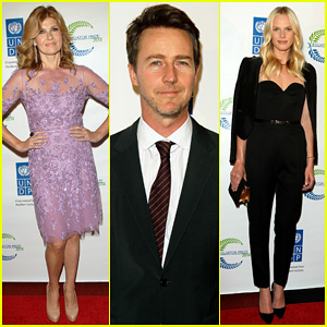 Connie Britton & Edward Norton Show Their Support at United Nations Equator Prize Gala 2014
