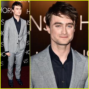 Daniel Radcliffe Suits Up for Paris Premiere of New Movie 'Horns'