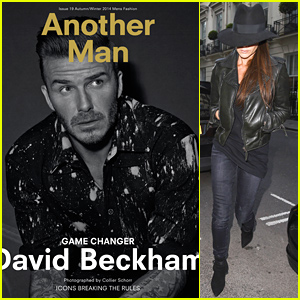 David Beckham is a Game Changer for Another Man's Latest Issue